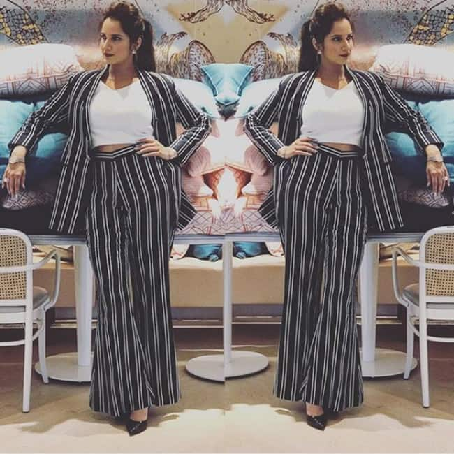 Sania Mirza in Label Bazaar outfit for an event