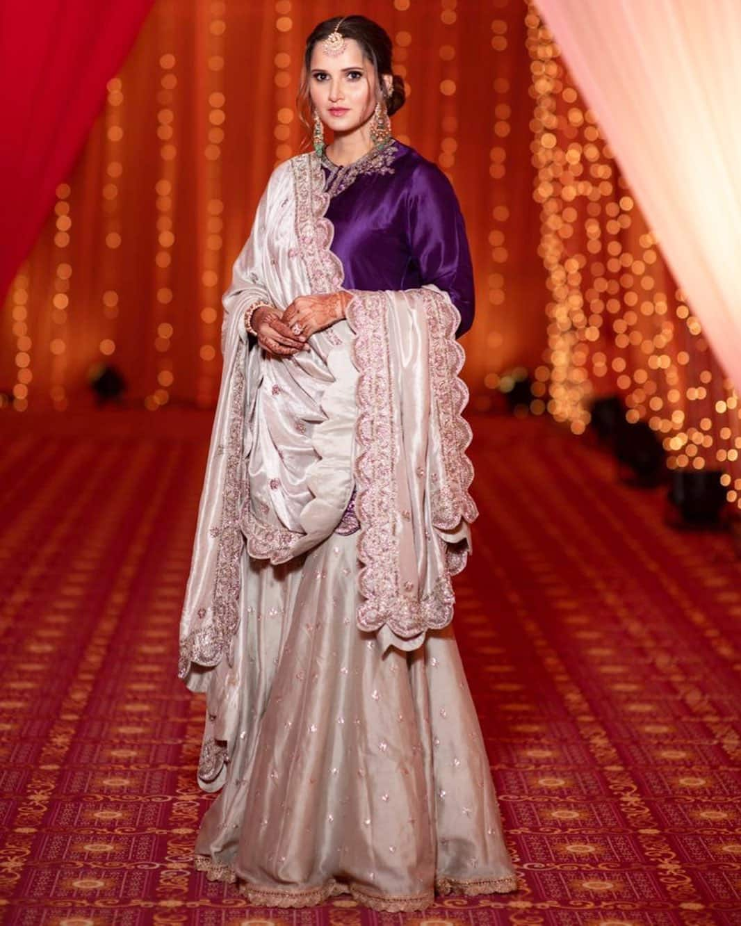 Sania Mirza Stuns in the traditional look