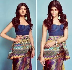 Sanjana Sanghi Impresses Fashion Police in Falguni Shane Peacock Ensemble And We Loved Her Look!