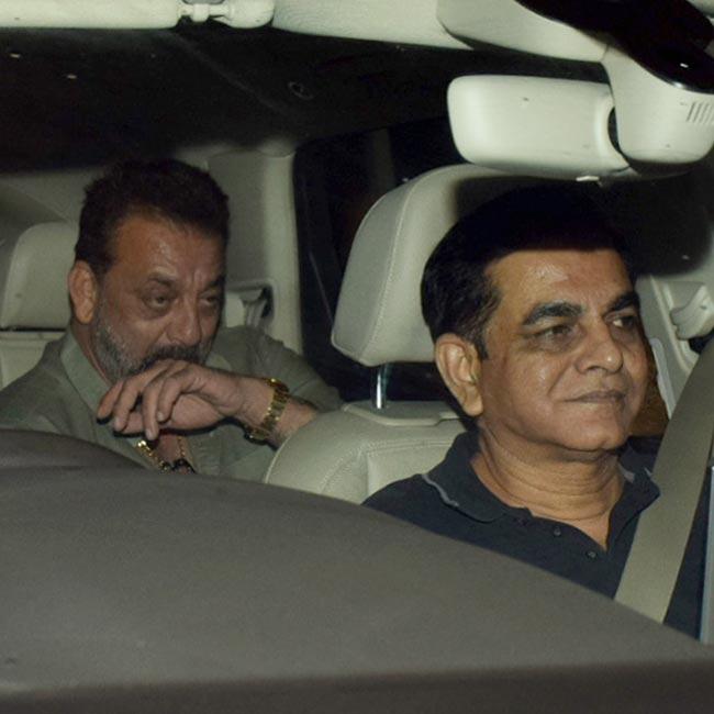 Sanjay Dutt attends Sanju screening