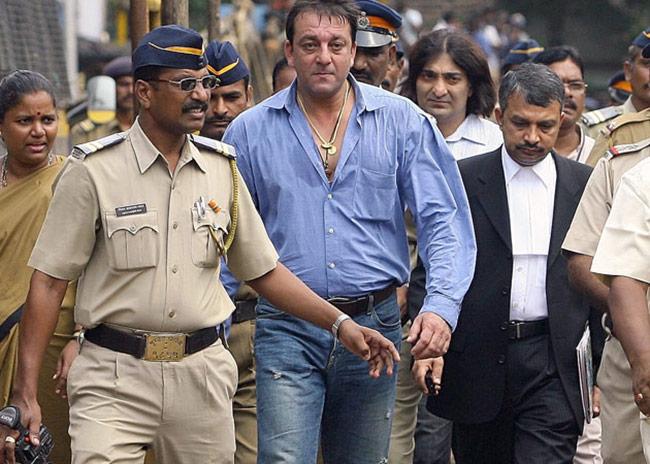 Sanjay Dutt booked under TADA