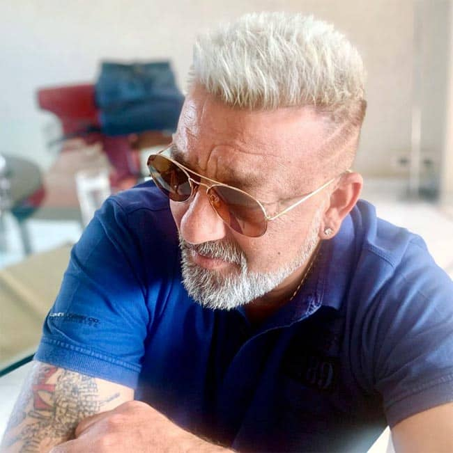 Sanjay Dutt goes blonde in new pics