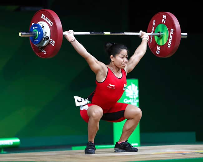 Sanjita Chanu brings second gold medal for Indian in weight lifting at CWG 2018