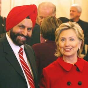 7 pictures which show US presidential candidates' Indian connection via Sant Singh Chatwal