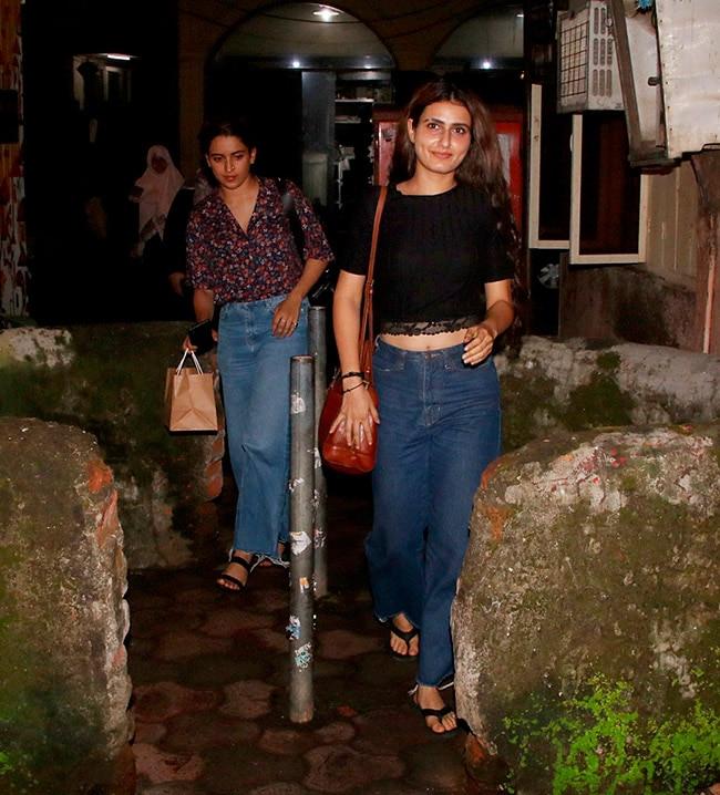 Sanya and Fatima look super stylish