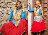 Sapna Choudhary Looks Gorgeous In Traditional Haryanvi Dress| See Photos