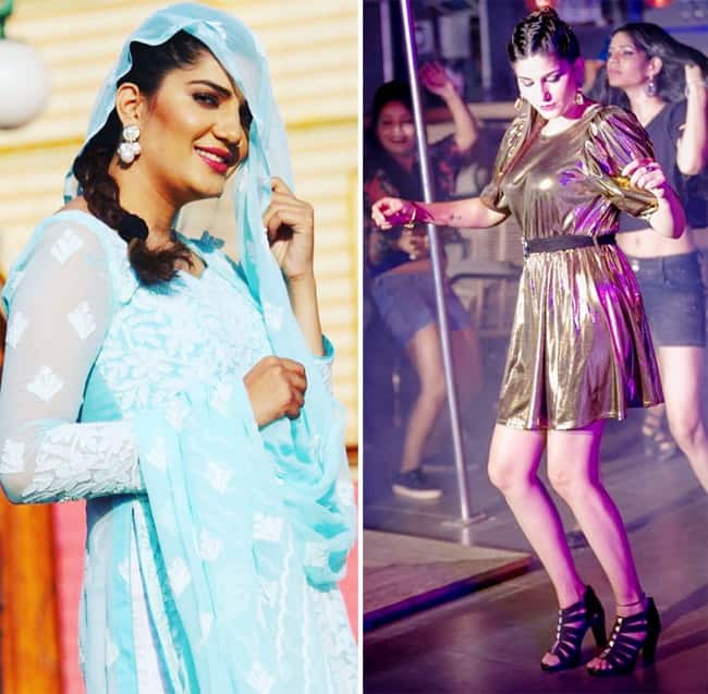 Sapna Choudhary Sizzles in Western And Ethnic Avatars