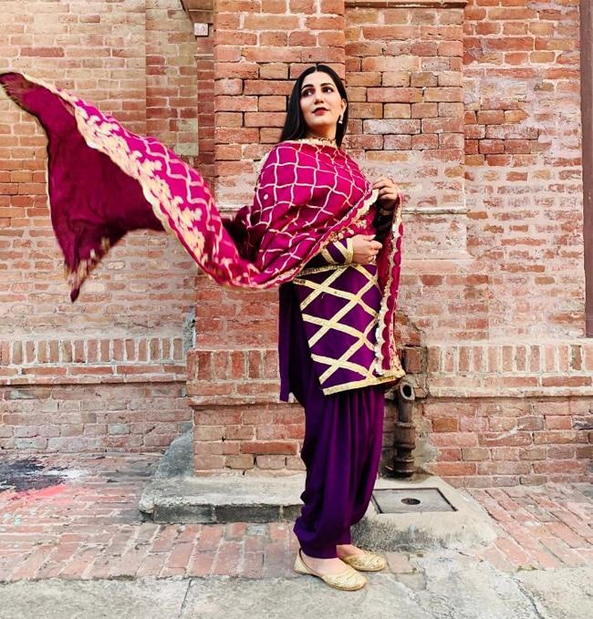 Sapna Choudhary   s Latest Photoshoot Post Pregnancy is Unmissable