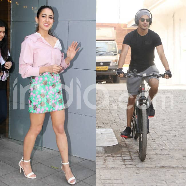 Sara Ali Khan and Ishaan Khatter were spotted in Mumbai