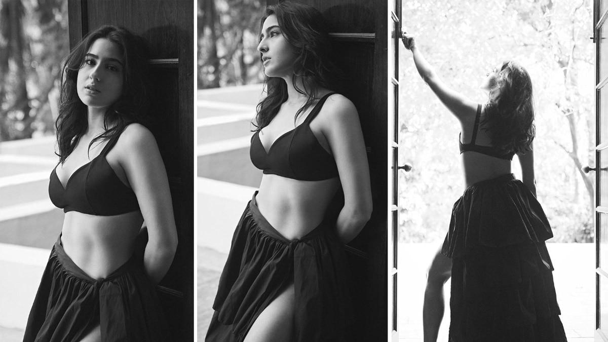 Sara Ali Khan Shares Hot Photos From Bold Photoshoot