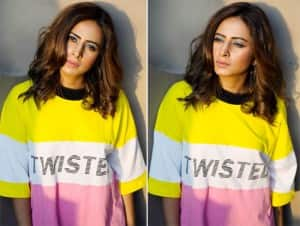 Sargun Mehta's 'TWISTED' Instagram Pictures in a Cool T-Shirt Can be The Outfit of The day, Diva's Killer Looks in Other Photos Can Make You Mesmerised