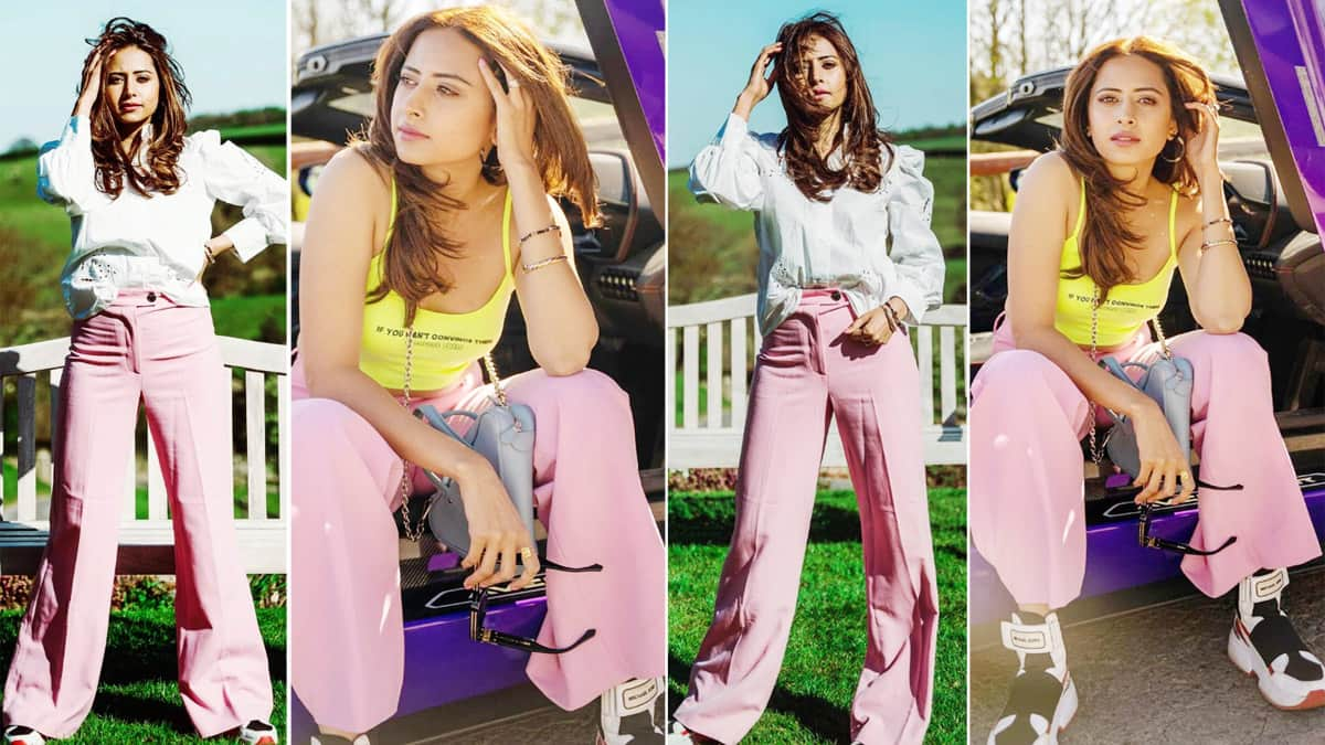 Sargun Mehta is Breaking The Internet With Her Colour Blocking Skills