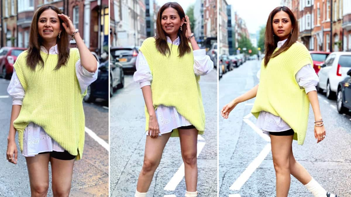 Sargun Mehta Raises The Glam Bar With Street Style Outfit
