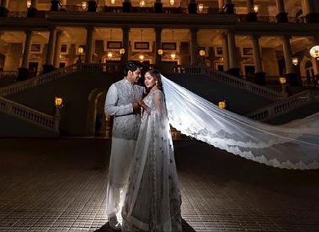 Sayyeshaa Saigal And Husband Arya Give Sneak Peek Into Their Royal Pre Wedding Photo Shoot