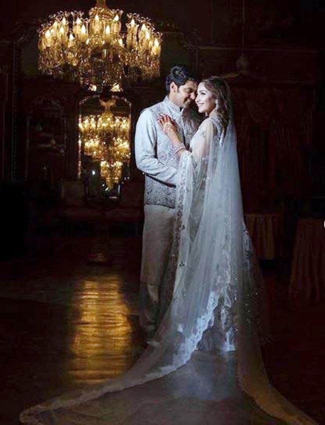 Sayyeshaa Saigal And Husband Arya Redefine Regal
