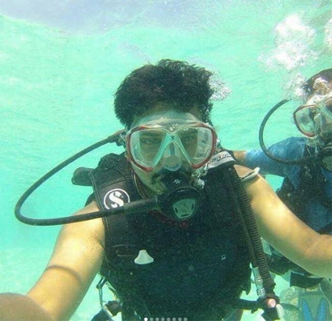 Scuba Diving in Kalpeni Island