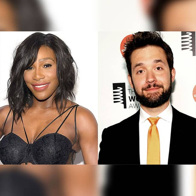 Serena Williams and his husband to be Alexis Ohanian