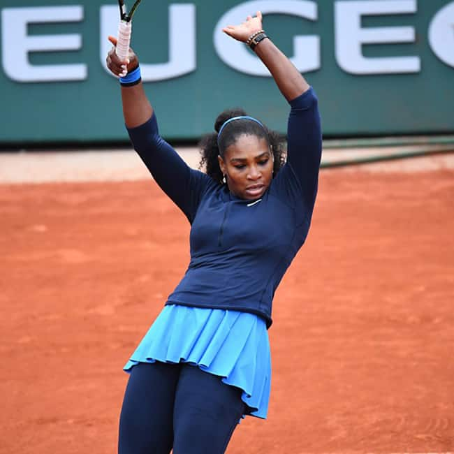 Serena Williams clicked during French Open 2016