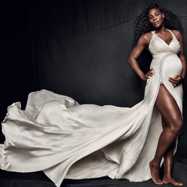 Serena Williams    pregnancy shoot