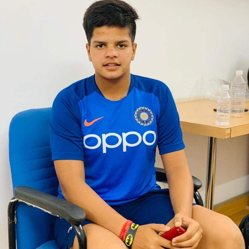 Shafali Verma Photo   Youngest Indian to register International 50
