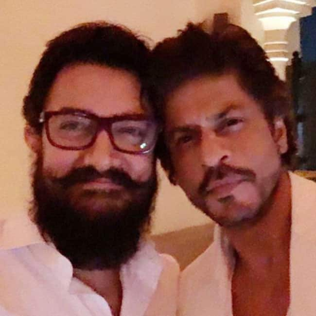 Shah Rukh Khan shares a picture with Aamir Khan on Instagram