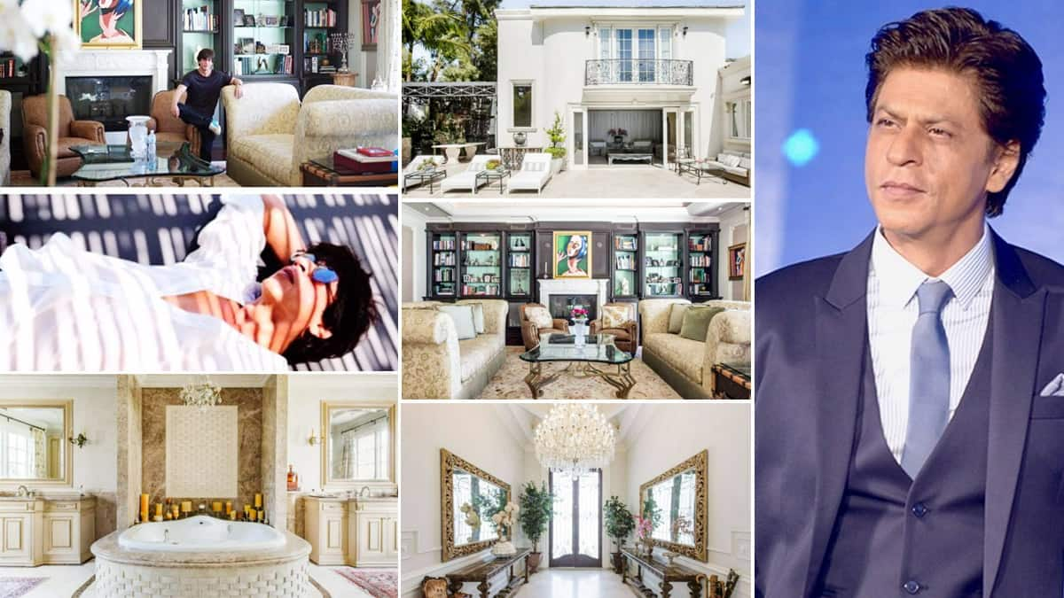 Shah Rukh Khan   s Los Angeles Luxe Villa is Unmissable