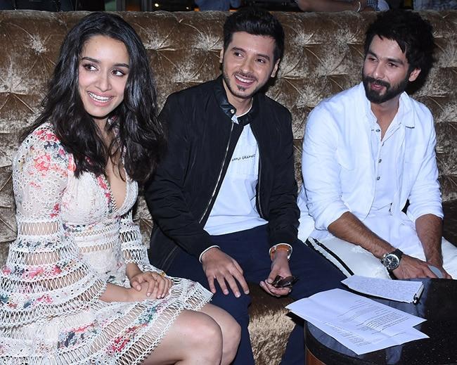 Shahid and Shraddha at the trailer launch of Batti Gul Meter Chalu