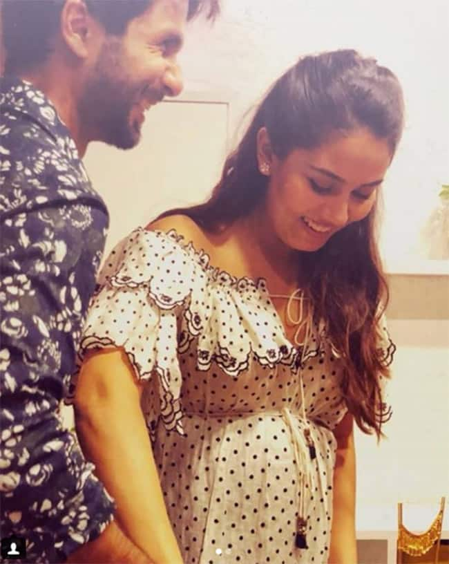 Shahid Kapoor and Mira Kapoor s Picture Perfect Moment From The Baby Shower