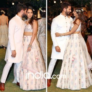 PICS: Shahid Kapoor and Mira Rajput give a romantic start to Lakme Fashion Week 2018