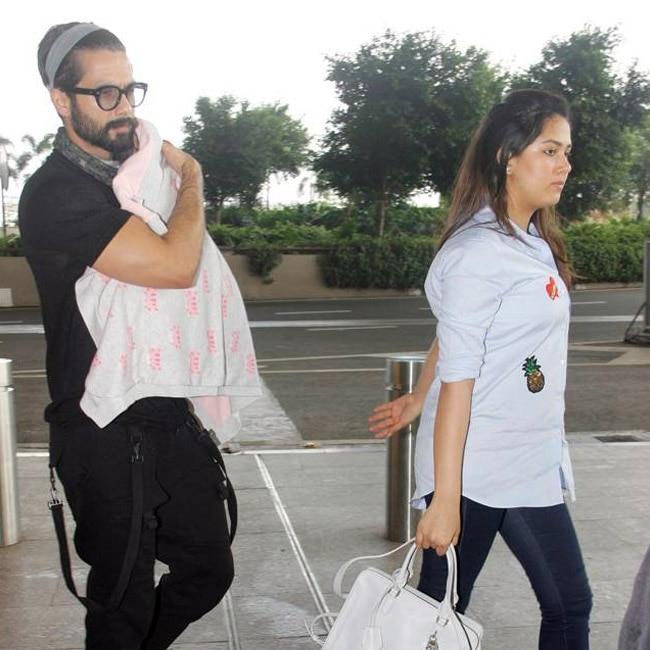 Shahid Kapoor and Mira Rajput   s daughter Misha Kapoor