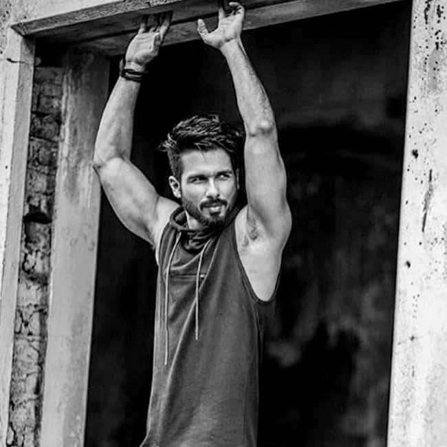 Shahid Kapoor poses for a hot picture