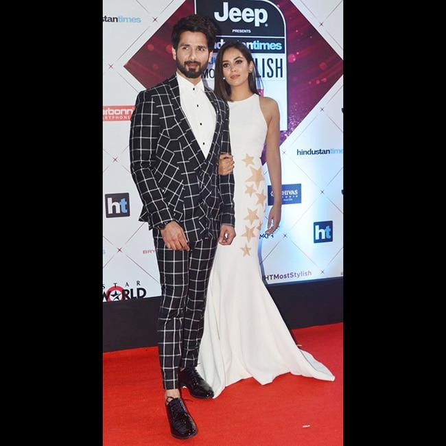 Shahid Kapoor won India   s Most Stylish  male  award