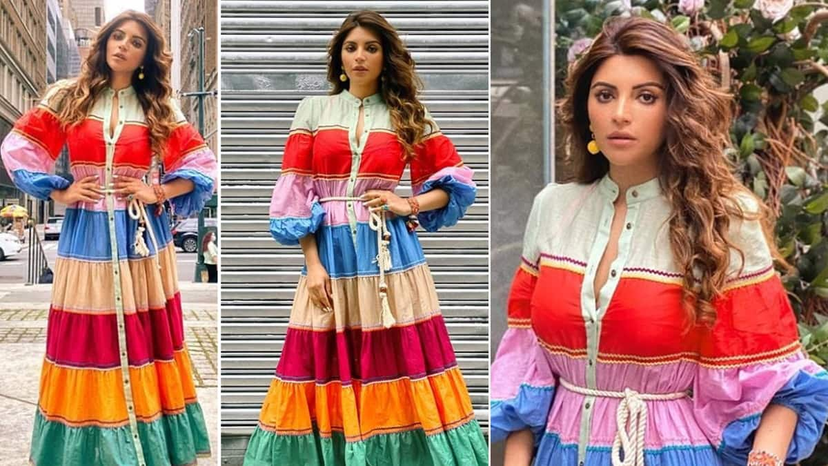 Shama Sikander Loves to Dress Up in Vibrant Colours And Here   s Evidence