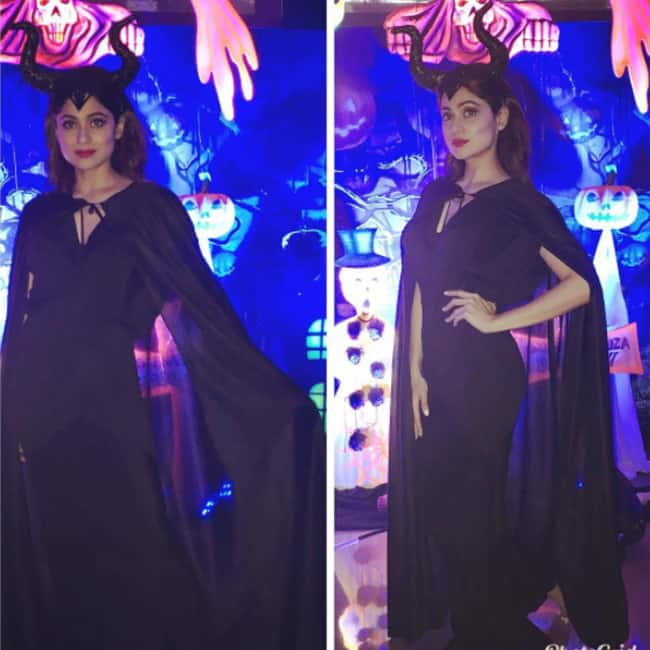 Shamita Shetty   s Halloween makeover