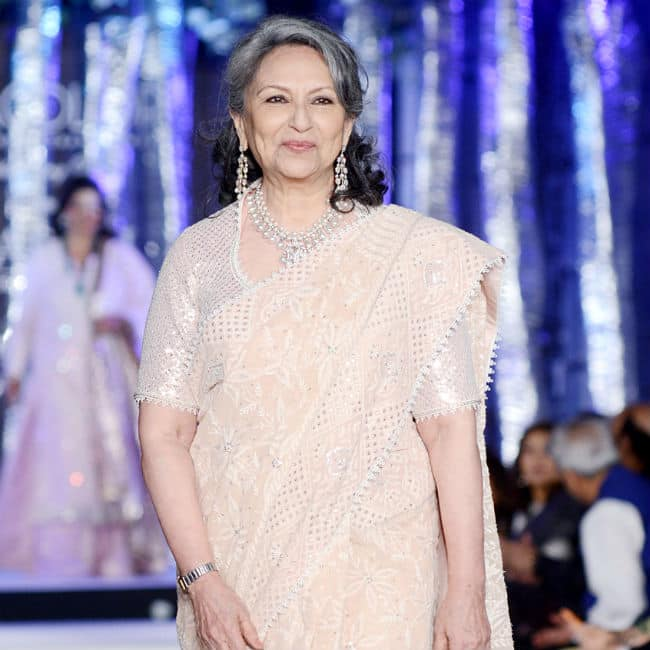Sharmila Tagore Takes The Stage by Storm as She Walks The Ramp