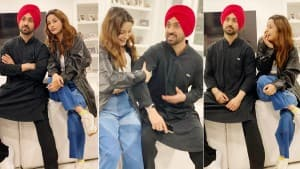Honsla Rakh Wrap Up: Diljit Dosanjh And Shehnaaz Gill Look Amazing Together As They Party In Canada