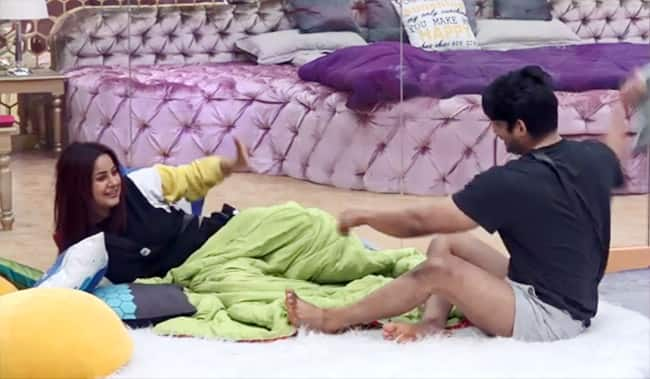 Shehnaaz Gill gets a tight slap from Sidharth Shukla