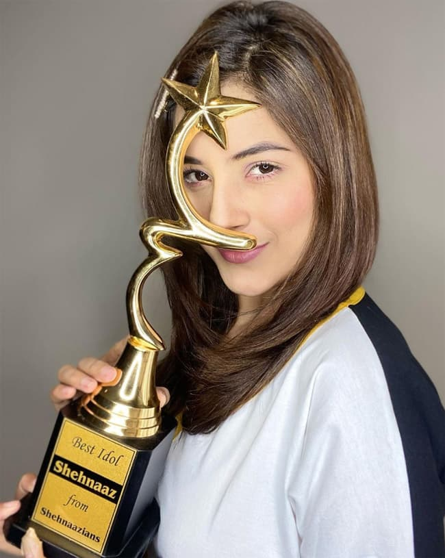 Shehnaaz Gill Honoured by Her Fans