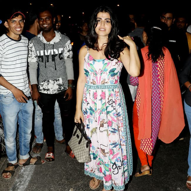 Shehnaz Treasurywala during protest against Unnao and Kathua rape case