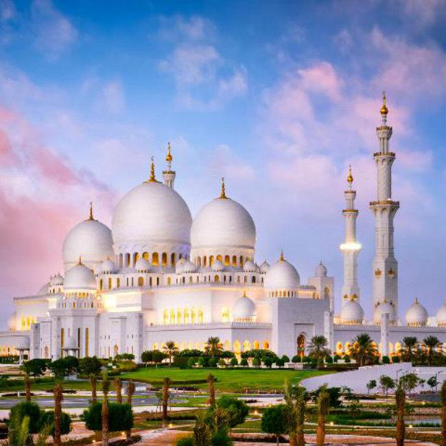 Sheikh Zayad Grand Mosque  Abu Dhabi  UAE