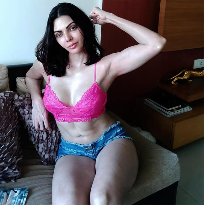 Sherlyn Chopra flaunts her sexy figure in latest pictures