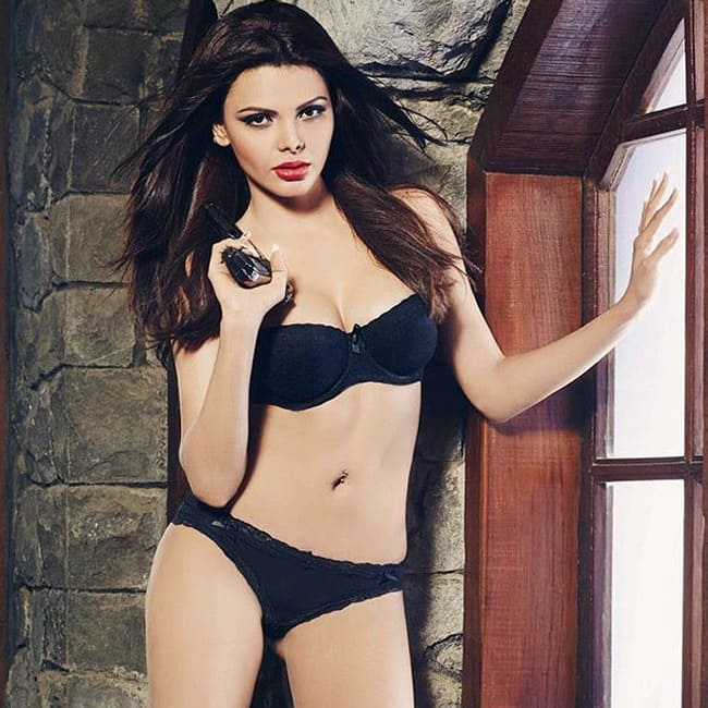 Sherlyn Chopra looks black hot in this bikini