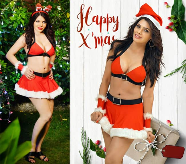 Sherlyn Chopra Turns Sexy Santa