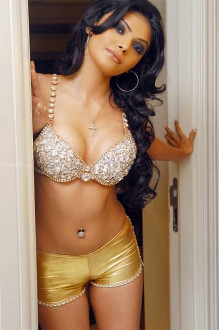 Sherlyn Chopra   s super hot picture in blingy bikini