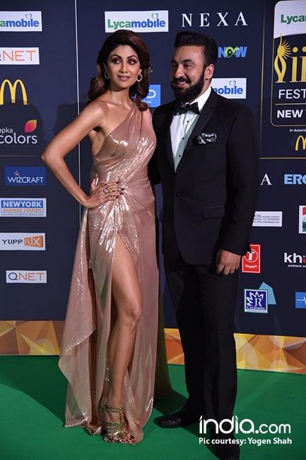 Shilpa Shetty Kundra with husband Raj Kundra