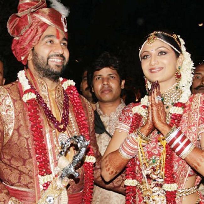 8 Pics From Shilpa Shetty And Raj Kundras Wedding Ceremonies To