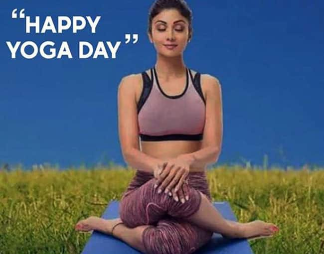Shilpa Shetty   s simple yoga tips can help you lose some kilos