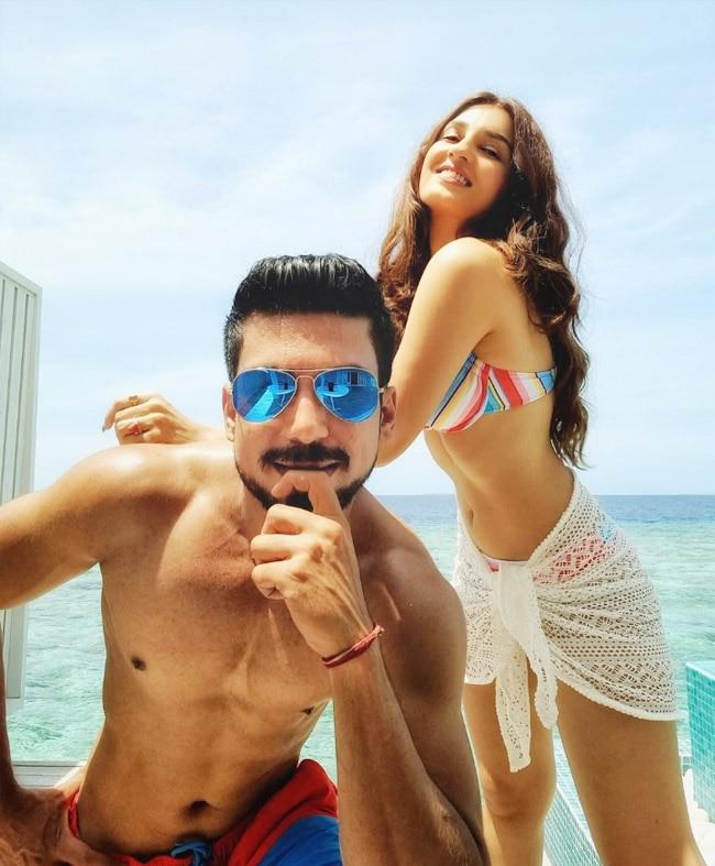 Shiny Doshi Goes Bold In Sexy Bikini As She Honeymoons In Maldives