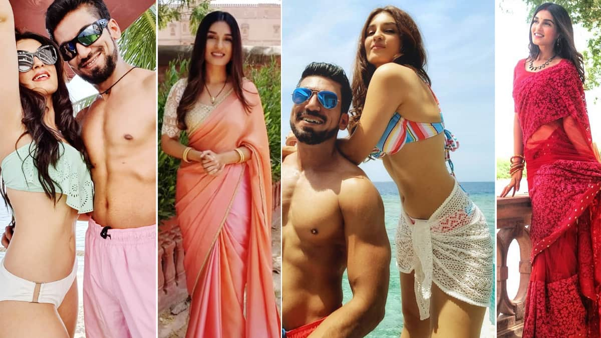 Shiny Doshi Jets Off With Her Husband Lavesh For Madives Honeymoon