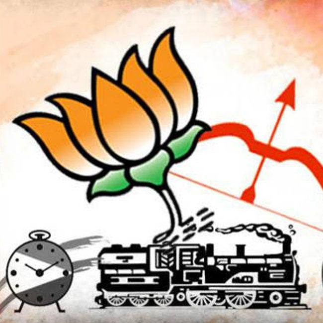 Shiv Sena  BJP  INC status in BMC election result 2017